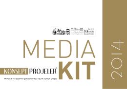 MediaKit - KONSEPT PROJELER