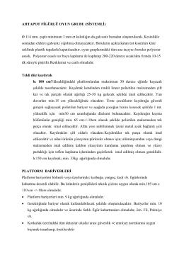AHTAPOT FİGÜRLÜ OYUN GRUBU (SİSTEMLİ) Ø 114