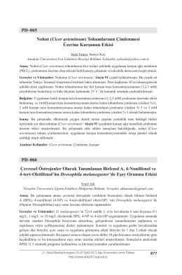 Çevresel Östrojenler Olarak Tanımlanan Bisfenol A, 4