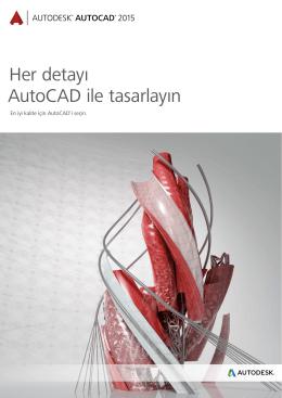 AutoCAD 2015 Broşürü