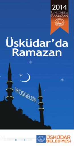 Ramazan 2014 - Üsküdar Belediyesi