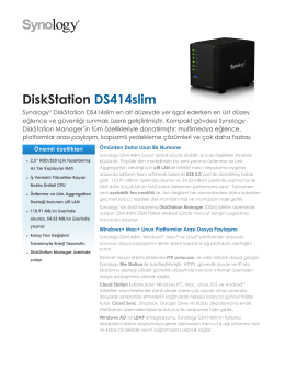 DiskStation DS414slim