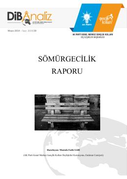 sömürgecilik raporu - AK Parti Genel Merkez Gençlik Kolları Dış