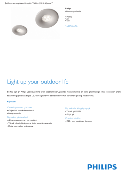 Product Leaflet: Pebble gri LED Gömme spot lamba