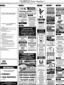 EGiTiM - Kıbrıs Gazetesi