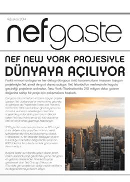 NEF NEW YORK PROJESiYLE