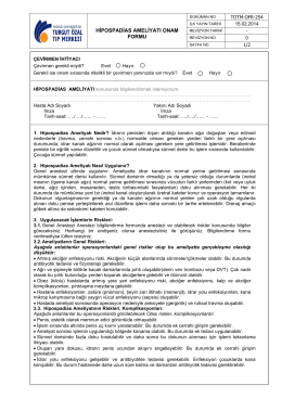 TOTM-OFR-254 HİPOSPADİAS AMELİYATI ONAM FORMU