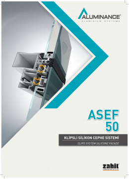 ASEF 50 - Akmanlar Alüminyum Profil Market