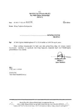 t2t.ı lI2014 - mersin - mezitli ilçe millî eğitim müdürlüğü