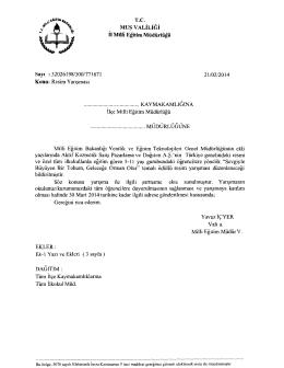 Resim Y an$mas1 MU~ VALILIGI ii Milfi Egitim Miidiirliigii 21102/2014