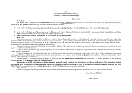 T.C. YENĠMAHALLE KAYMAKAMLIĞI Ümitköy Anadolu Lisesi