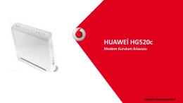 HUAWEİ HG520c