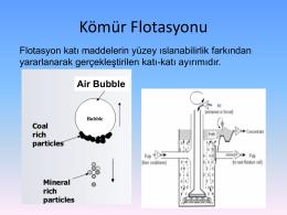 Kömür Flotasyonu