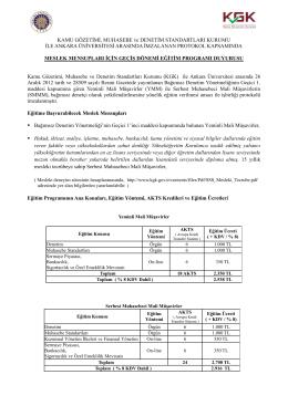 KGK ile Ankara Üniversitesi Arasında İmzalanan Protokol