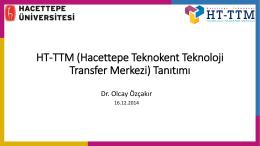 Üniversite-Sanayi İşbirliğinde HT-TTM