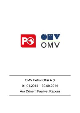 Petrol Ofisi A.Ş. 01 Ocak - 30 Eylül, 2009 Dönemi Faaliyet Raporu