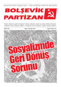 Bolşevik Partizan ÖZEL SAYI