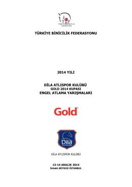 gold 2014 yılsonu kupası programı