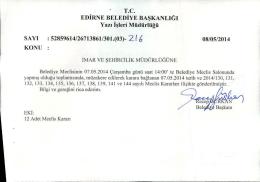 mayıs - Edirne Belediyesi