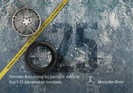 MB Lastik-Jant Brosur - Mercedes-Benz