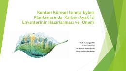 Prof.Dr. Cengiz TÜRE - Türkiye Sağlıklı Kentler Birliği