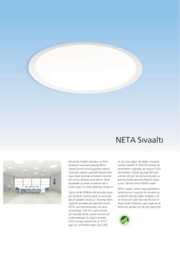 NETA Sıvaaltı - EAE Aydınlatma