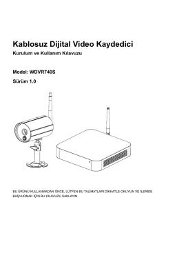 Kablosuz Dijital Video Kaydedici