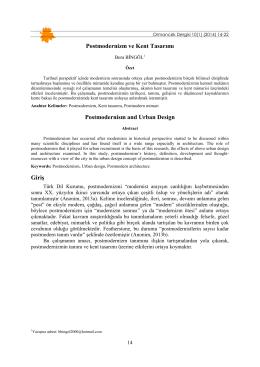 PDF - Düzce Üniversitesi Ormancılık Dergisi | Anasayfa