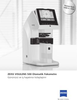 ZEISS VISULENS 500 Otomatik Fokometre - Cem