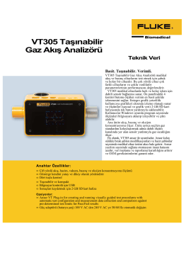 VT305 DATA SHEET-TR