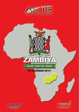 ZAMBİYA Tanıtım Kitapçığı