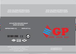 hotel temizlik ürünleri - GP Elektrik Mekanik İnşaat