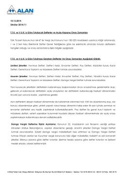 A.Nihat Tarlan Cad. Kitapçı Mehmet Süleyman Sk.Ada Apt. No:22 B
