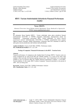 Tam Metin(PDF) - Karatekin Üniversitesi İktisadi ve İdari Bilimler