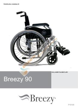 Breezy 90 - Akülü Tekerlekli Sandalye