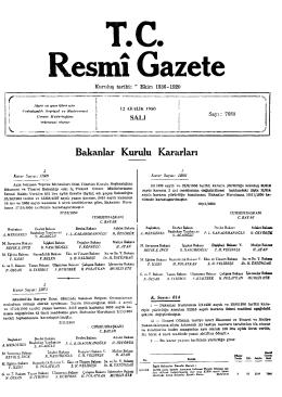 Resmî Gazete r