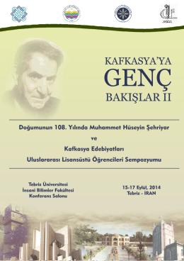 Bilimsel Program - Ardahan Üniversitesi