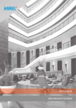 Karel Otel Telefon Ürünleri Kataloğu