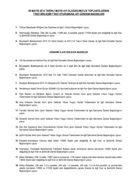 09.05.2014 - Eskişehir Büyükşehir Belediyesi