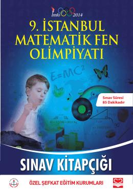 5.Sınıf soru kitapçığı