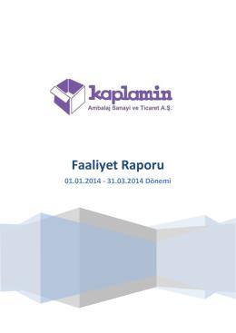 Mart 2014 - Kaplamin