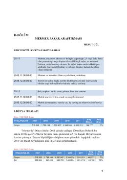 TRC1/12/DFD/2016-Adıyaman İli Mermer Sektörü Araştırma Raporu-2