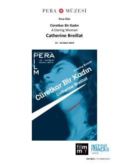 Catherine Breillat - Institut français en Turquie
