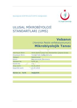 Veba - Türkiye Halk Sağlığı Kurumu