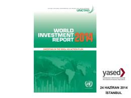 UNCTAD 2014 Dünya Yatırım Raporu
