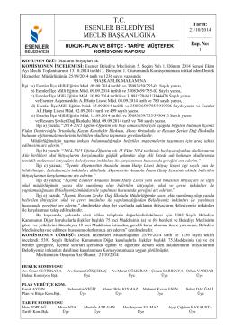 21/10/2014 Okulların İhtiyaçları Hk.
