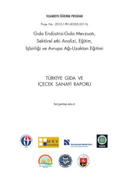 Türkiye-Gida-ve-icecek-sanayi-raporu-TUGIS - proje