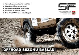 Sayı 8 - Türkiye Otomobil Sporları Federasyonu