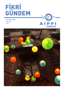 FİKRİ GÜNDEM - Aippi Turkey