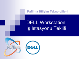 Dell Precision T1700 Workstation İş İstasyonu
